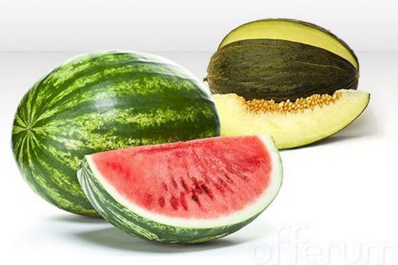 omo elegir un melón o sandía