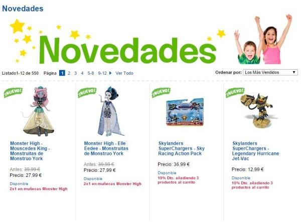 Comprar por juguetes por internet