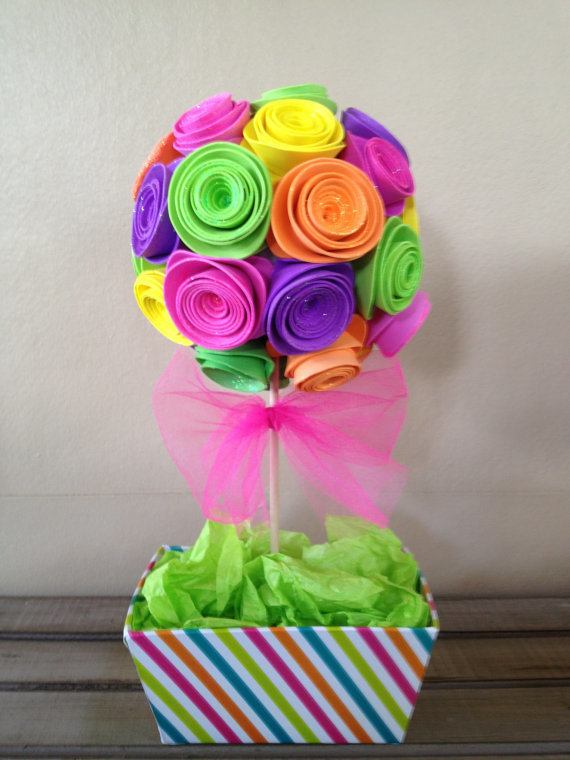 Ideas de flores para cumplea os - Material para hacer diademas ...