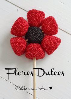 Ideas de flores para cumplea os - Ideas para decorar mesas de chuches ...