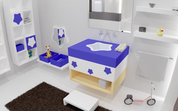 Cómo decorar un baño de niños