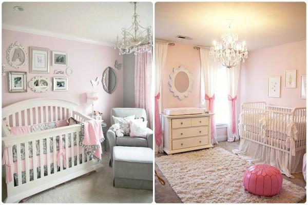 C mo decorar una habitaci n de beb - Dormitorios bebe nina ...