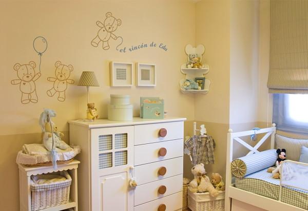Cómo decorar una habitación de bebé