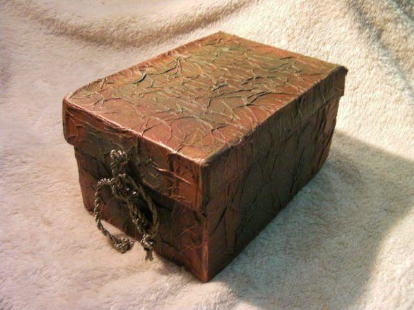 C mo decorar una caja de cart n - Decoracion de cajas ...