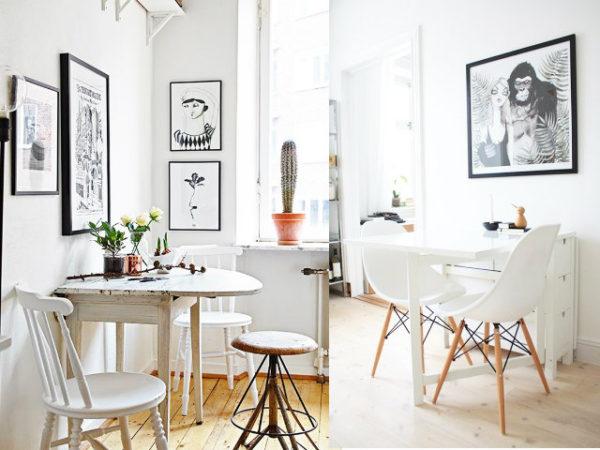 Las 30 mejores ideas para decorar tu cocina blanca for Cuadros para cocina
