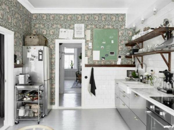 Las 30 mejores ideas para decorar tu cocina blanca for Imagenes de decoracion de cocinas
