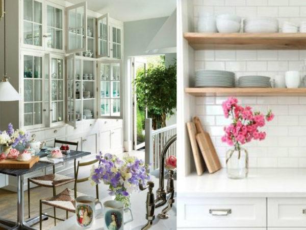 Las 30 mejores ideas para decorar tu cocina blanca - Decoracion pared cocina ...