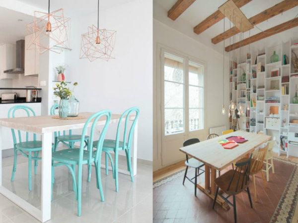30-mejores-ideas-de-decoración-cocinas-lámparas