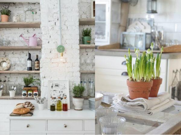 30-mejores-ideas-de-decoración-cocinas-macetas