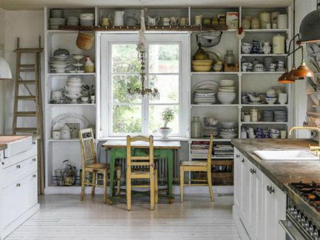 Las 30 mejores ideas para decorar tu cocina blanca for Las mejores cocinas