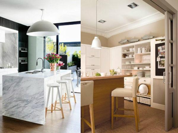 30-mejores-ideas-de-decoración-cocinas-taburetes