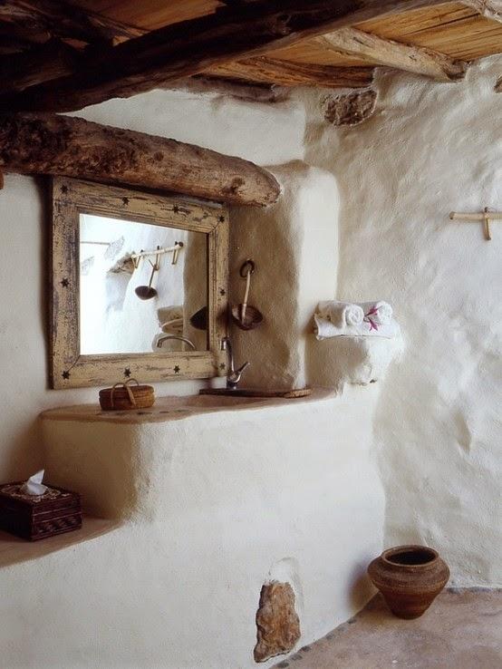 Más de 50 Fotos para decorar baños rústicos - BlogHogar.com
