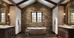 Más de 50 Fotos para decorar baños rústicos