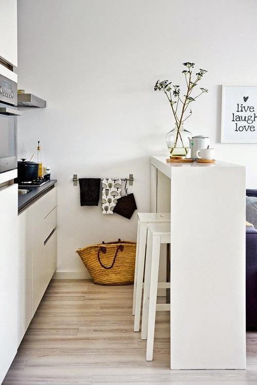 cocinas-pequenas-blancas-con-isla