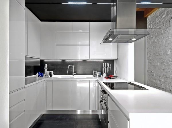 Las fotos con las mejores 30 cocinas peque as - Fotos de disenos de cocinas pequenas ...