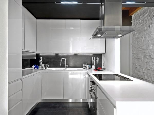 Las fotos con las mejores 30 cocinas peque as - Diseno de cocinas pequenas ...