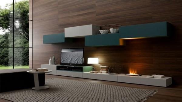 salones-modernos-con-chimenea-integrada