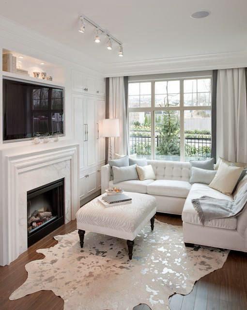 salones-modernos-pequenos-muebles-blancos