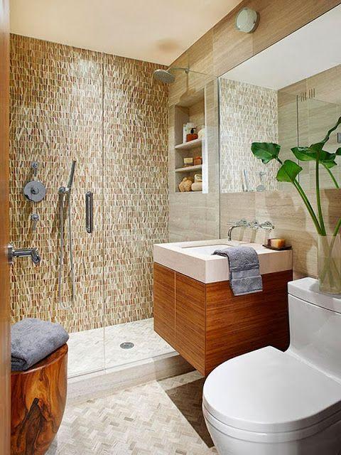 50 fotos de ba os peque os modernos con ducha 2016 ideas