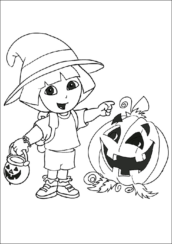 dora-manualidades-halloween