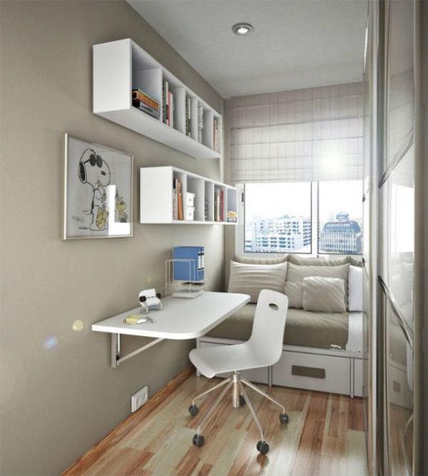 Como Decorar Habitaciones Juveniles Baratas Y Pequenas - Decoracion-de-habitacion-juvenil
