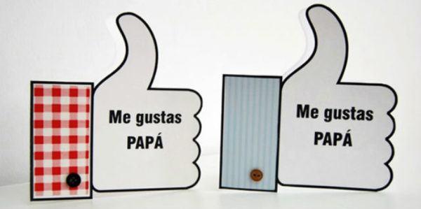 Tarjetas Para El Dia Del Padre Con Materiales Reciclados