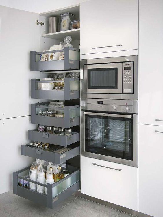 C mo decorar cocinas blancas y modernas 2018 for Cocinas modernas blancas precios