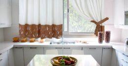 Fotos de cortinas para la cocina 2017 | Diseños y consejos