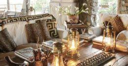 Decoración de salones coloniales: Colores, muebles y consejos