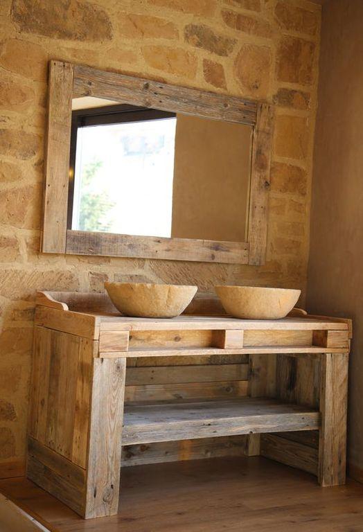 muebles con palets mesa - Muebles Palets