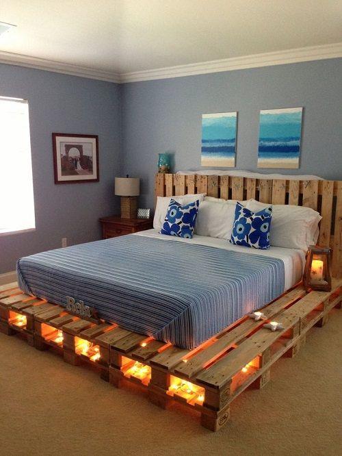 Ideas y diseños para hacer Muebles con palets | DIY - BlogHogar.com