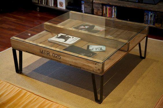 Ideas y dise os para hacer muebles con palets diy for Mueble salon palets