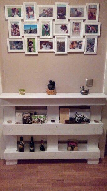 Ideas y dise os para hacer muebles con palets diy - Que hacer con un palet ...