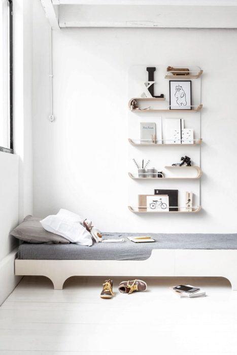 Las mejores fotos de repisas de madera - Madera para estantes ...