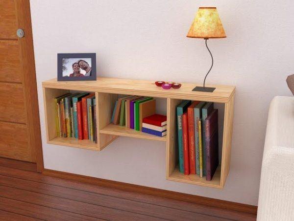 Las mejores fotos de repisas de madera for Crear muebles juveniles
