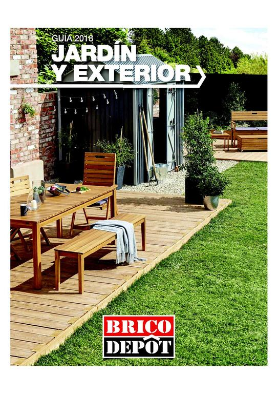 Cat logo brico depot especial jard n y exterior 2018 for Casetas exterior brico depot