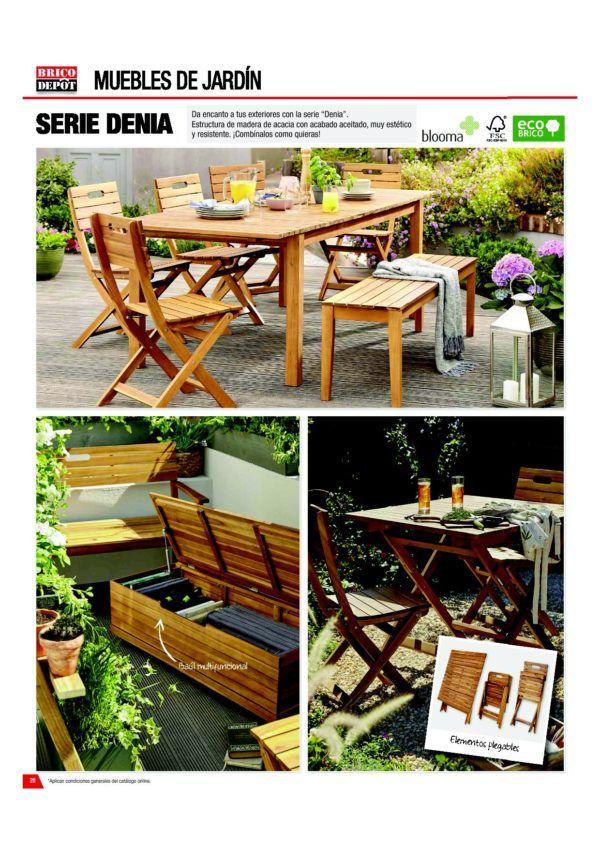 Fantástico Muebles De Jardín Blooma Colección - Muebles Para Ideas ...