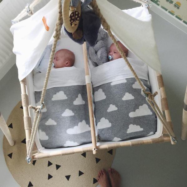 como-decorar-una-habitacion-de-bebe-cuna-colgante-instagram