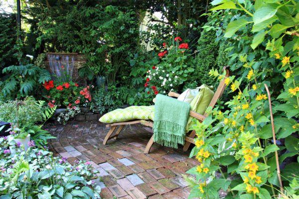 Decoraci n de jardines peque os 2019 for Jardines en espacios pequenos fotos