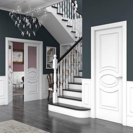 Dise os de puertas de interior 2018 blancas de madera for Disenos d puertas d madera