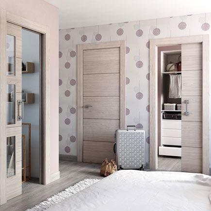 Dise os de puertas de interior 2018 blancas de madera - Puertas rusticas interior ...
