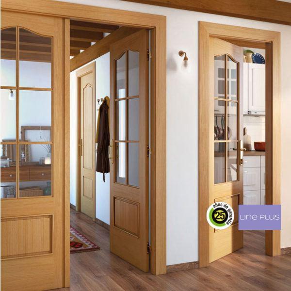 Dise os de puertas de interior 2019 blancas de madera for Puertas rusticas de madera interior