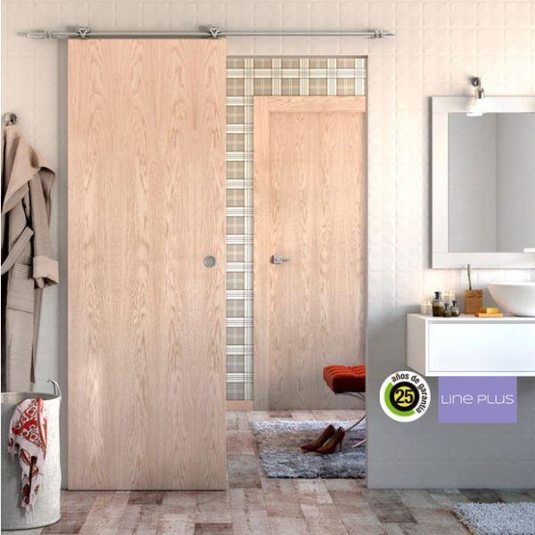 Dise os de puertas de interior 2019 blancas de madera con cristal y r sticas - Puertas de madera leroy merlin ...