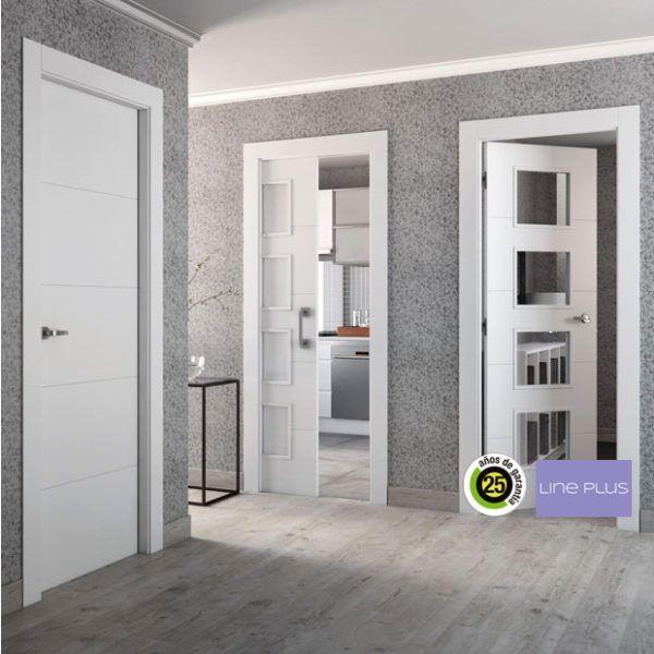 Disenos De Puertas De Interior 2019 Blancas De Madera Con