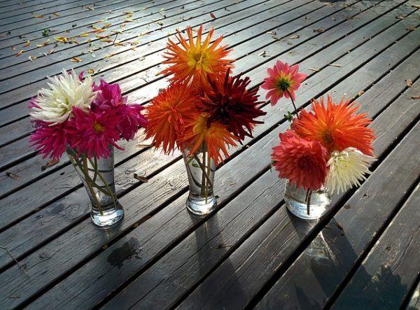 16 Ideas Decorativas De Jarrones Con Flores Bloghogarcom