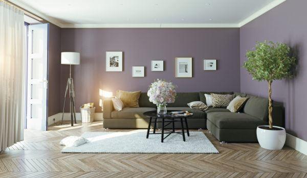 Consejos para decorar las paredes del salon catalogos de salones