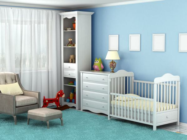 Consejos para decorar una pared infantil espacio ordenado y limpio