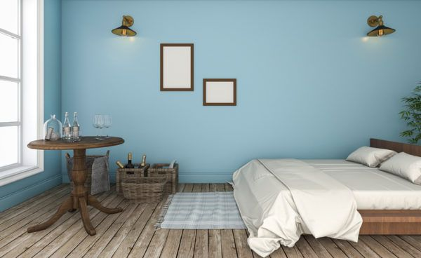 ideas para decorar las paredes del dormitorio el color tonos pastel