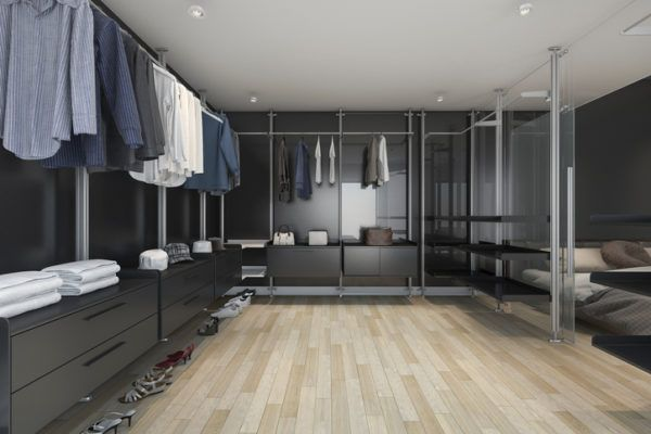 Ideas para decorar una habitacion de matrimonio grande armario vestidor