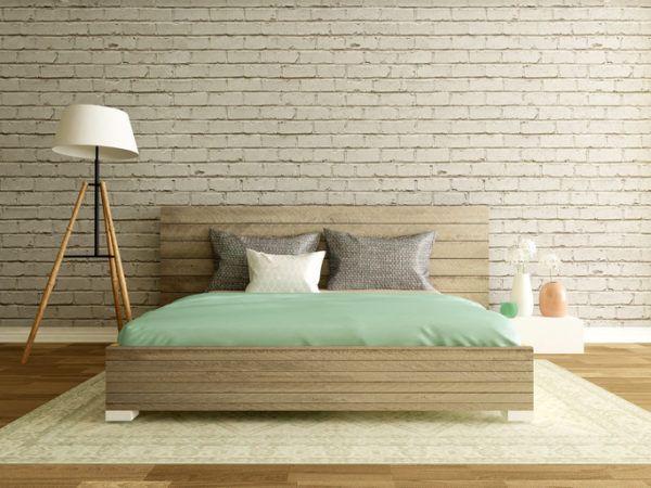 Ideas para decorar una habitacion de matrimonio moderna papel pintado